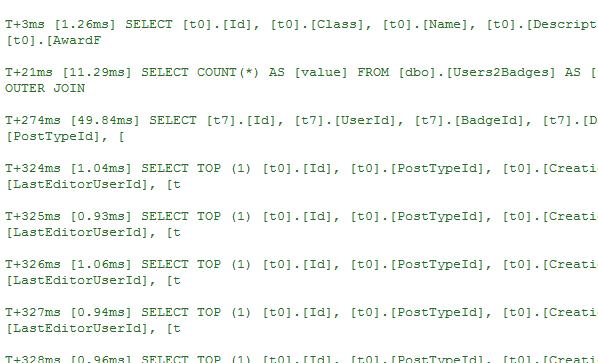 SQL breakdown